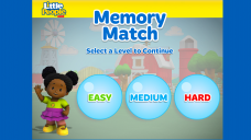 Little People Memory Match